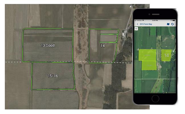 Trimble Ag Çiftlik Haritalama